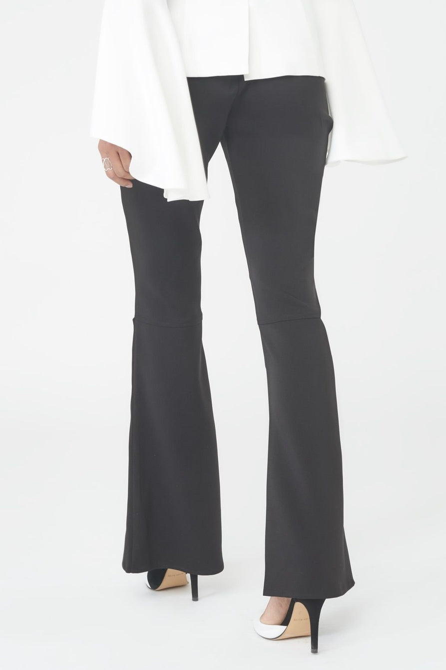 Fitted Bell Bottom Trousers