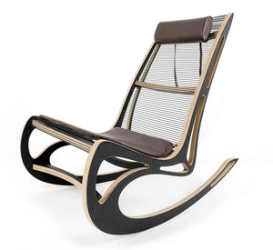 QVIST ROCKING CHAIR & FOOTSTOOL