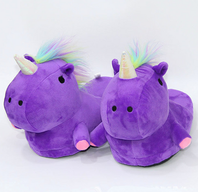 Chaussons Adorable Licorne