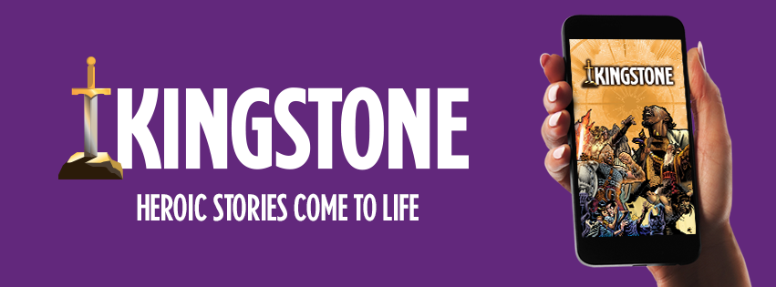Kingstone Comics App: Heroic Stories Come to Life