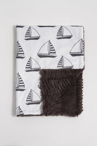 Sailboat Child Blanket