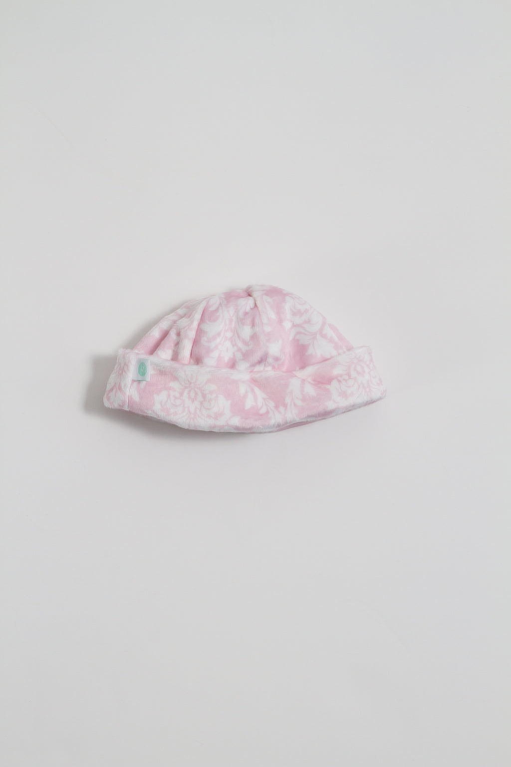 Pearl Pink Damask Beanie