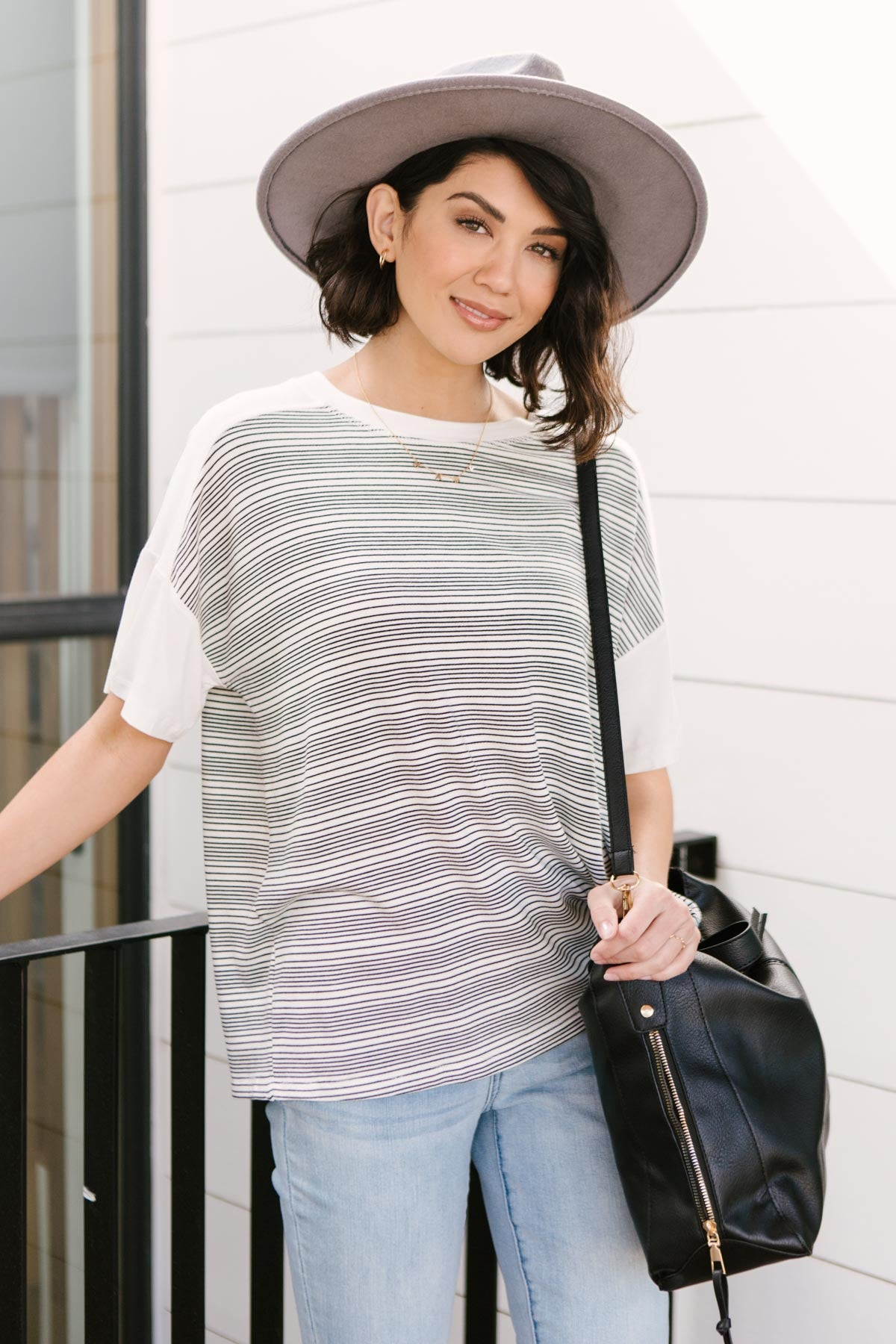 Cozy In Stripes Top