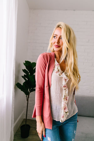 Everything's Coming Up Roses Cardigan