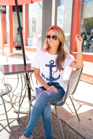 Anchor Long Tee