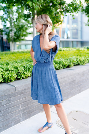 Bainbridge Dress In Blue