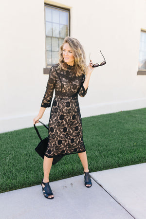 Date Night Delight Lace Dress