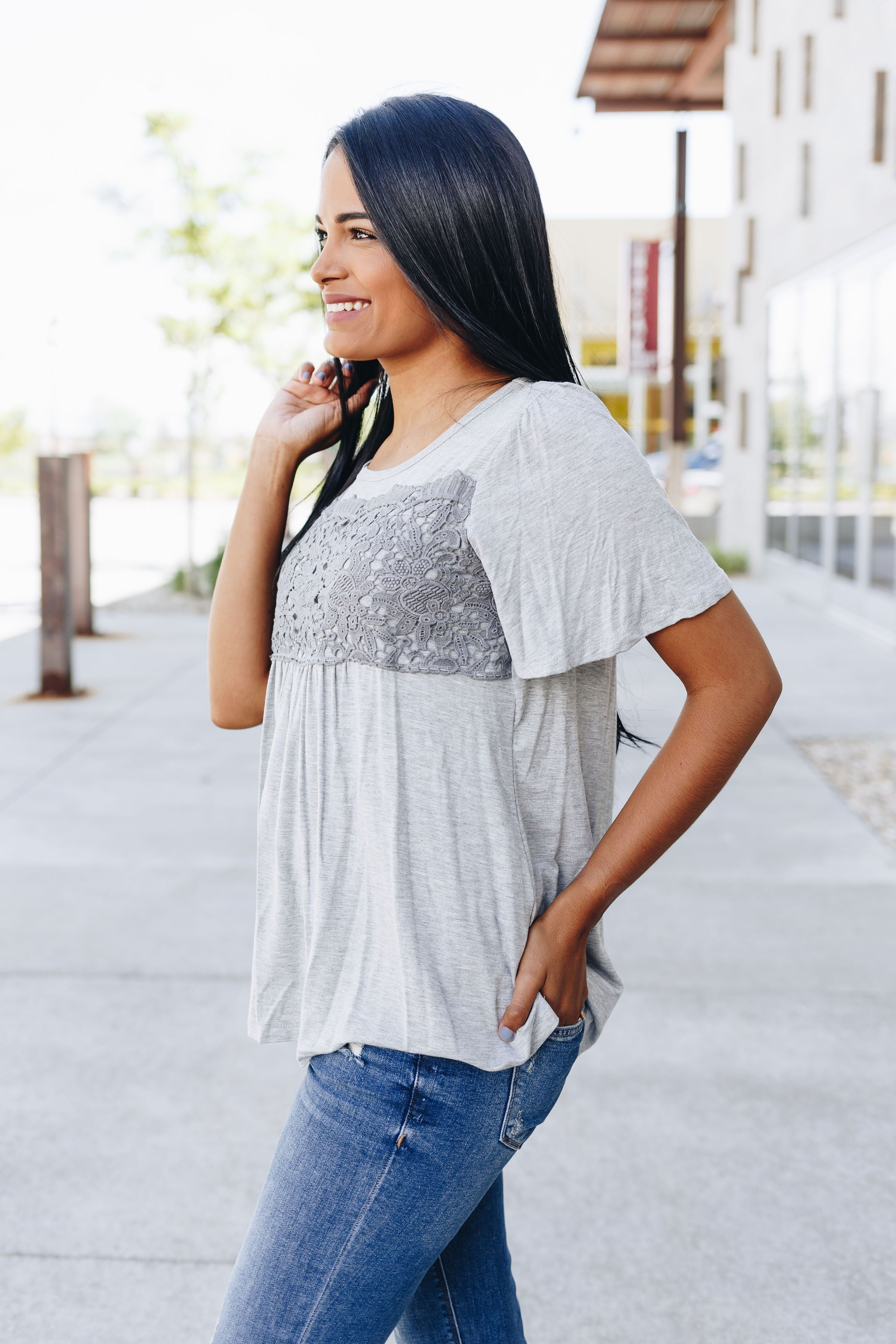 Lace And Sensibility Top