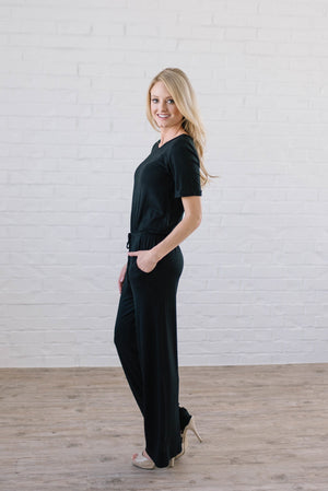 Life Is Good Jumpsuit In Black