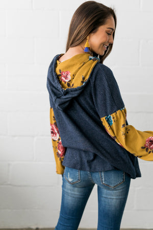 Sleeves Abloom Hoodie - ALL SALES FINAL