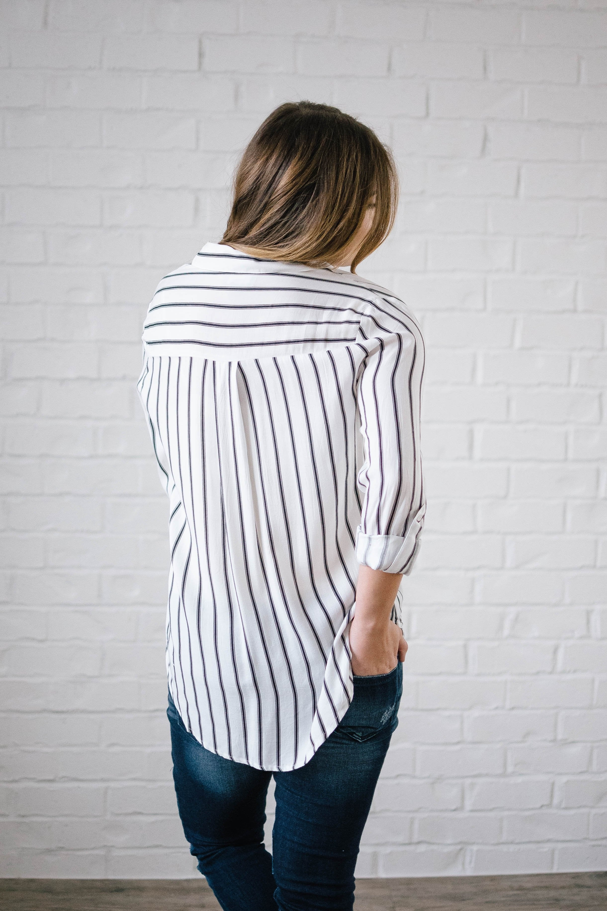 The Dakota Striped Work Shirt