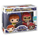 Funko POP! Exclusivo The Black Cauldron: Taran y Horned King - Set de 2