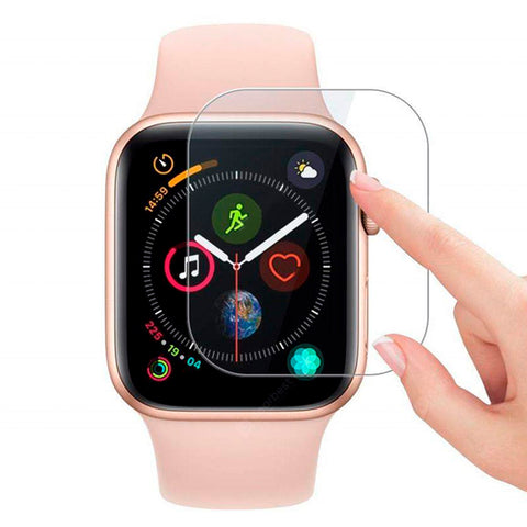 Mica de Vidrio HD Antigolpes Apple Watch 40mm