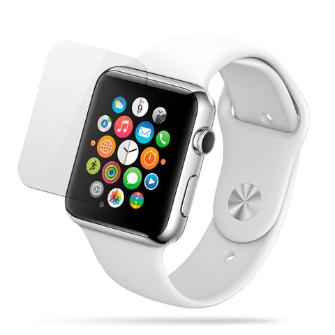 Mica de Vidrio HD Antigolpes Apple Watch 44mm