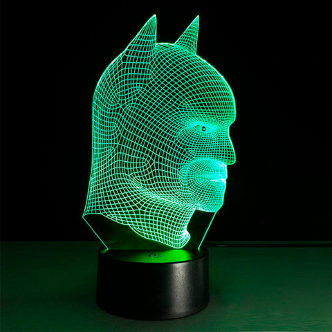 Lámpara Led Efecto 3D Batman