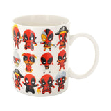 Taza Chibi Deadpool Marvel Heroes Collage