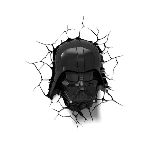 Lámpara Decorativa de Pared Star Wars: Darth Vader Casco