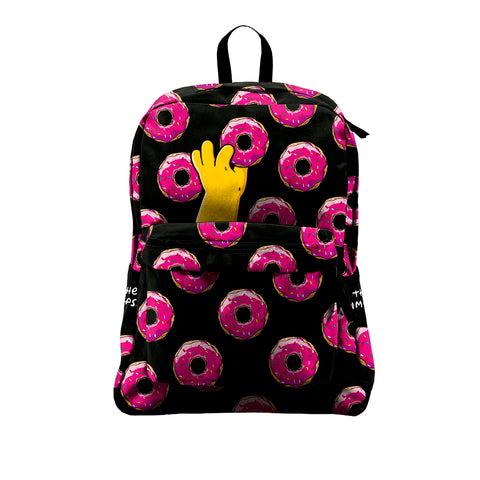 Mochila Sport Impermeable Los Simpsons Donuts