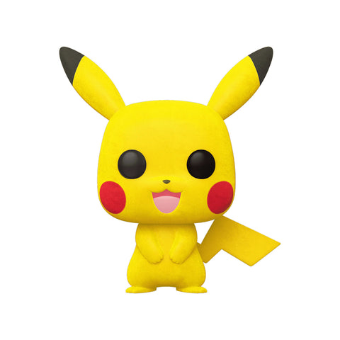 Funko POP! Exclusivo Pokémon: Pikachu (Flocked) #353
