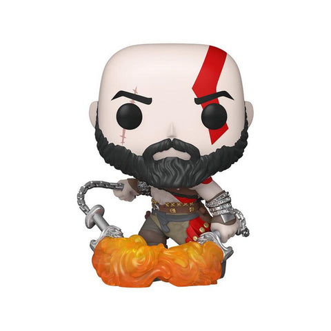 Funko POP! Exclusivo PlayStation: Kratos with the Blades of Chaos #154