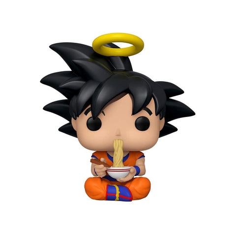 Funko POP! Exclusivo Dragon Ball Z: Goku (Eating Noodles) #710