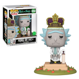 Funko POP! Deluxe con Sonido Rick and Morty: King of $#!+ #694