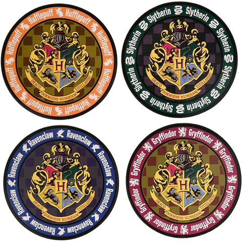 Portavasos Hogwarts Harry Potter - Set de 4