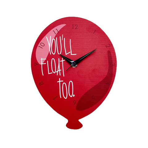 Reloj de Pared Pennywise Globo IT You'll Float Too