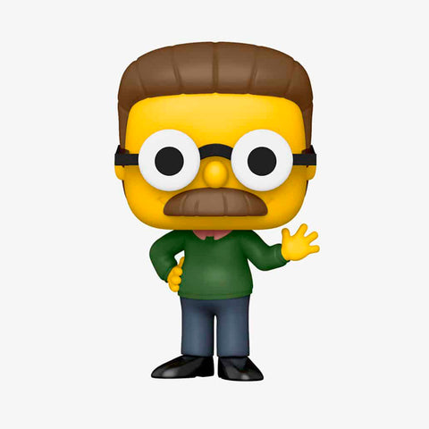 Funko POP! Exclusivo - The Simpsons: Ned Flanders #833