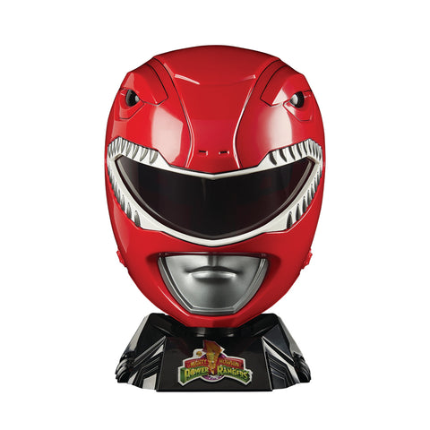 Casco Power Rangers - Mighty Morphin Red Ranger Réplica Tamaño Completo 1:1