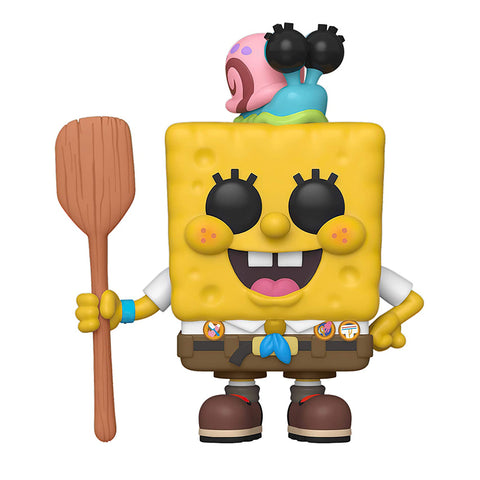 Funko Pop! The Spongebob Movie - Sponge on the Run: Spongebob Squarepants with Gary #916