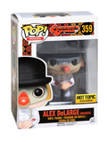 Funko POP! Exclusivo - A Clockwork Orange: Alex DeLarge (Masked) #359