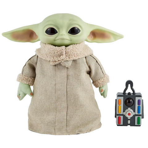 Peluche Mattel The Child Movimientos Reales