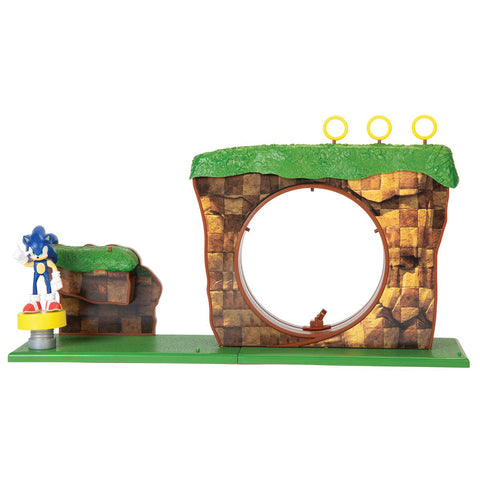 Sonic Diorama Set Green Hill Zone