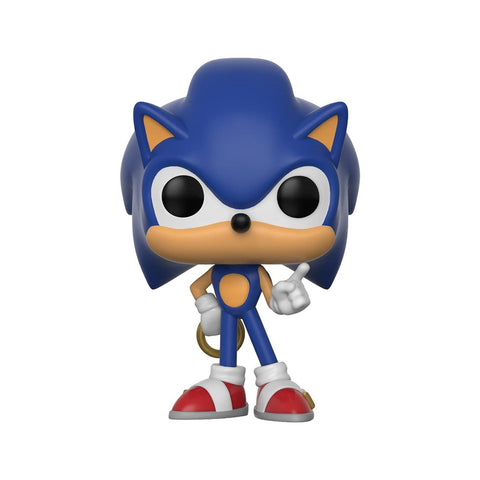 Funko POP! Sonic the Hedgehog: Sonic with Rings #283