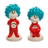 Set Salero y Pimentero Dr. Seuss: Thing 1 y Thing 2