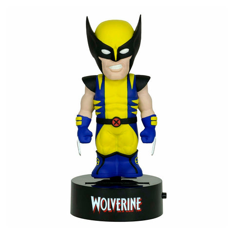 Neca Body Knocker con Energía Solar - Marvel: Wolverine