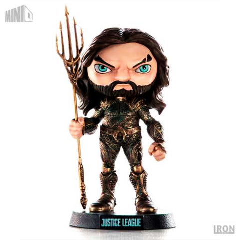 Estatua Iron Studios - MiniCo - Aquaman Justice League