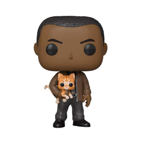 Funko POP! Exclusivo Captain Marvel: Nick Fury with Goose the Cat #447