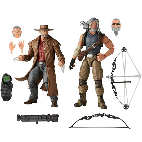Marvel Legends Series 6-Pulgadas Marvel's Logan y Marvel's Hawkeye - Set de 2