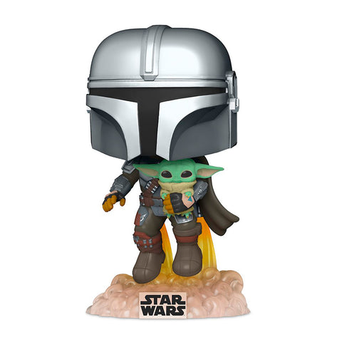 Funko POP! Star Wars - The Mandalorian with The Child: #402