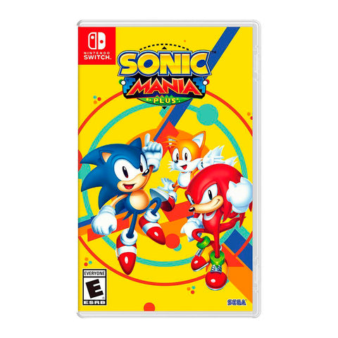 Juego Nintendo Switch - Sonic Mania