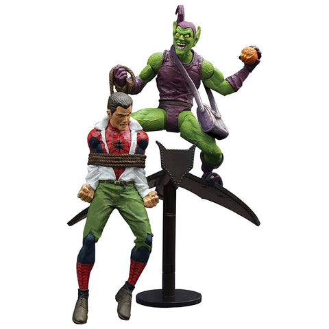 Figura de Acción Marvel Select Green Goblin vs Peter Parker