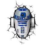 Lámpara Decorativa de Pared Star Wars: R2-D2