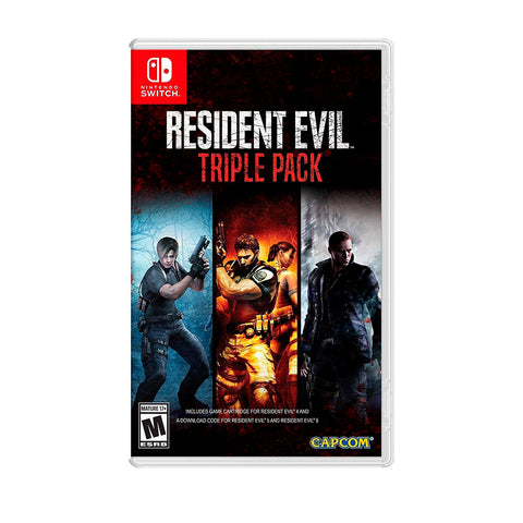 Juego Nintendo Switch - Resident Evil Triple Pack
