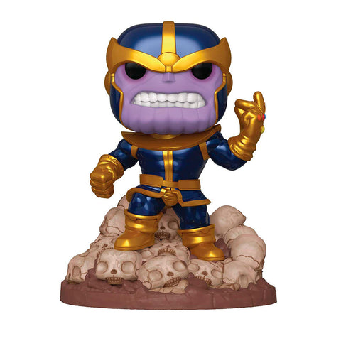 Funko POP! Deluxe Exclusivo PX Previews 6 Pulgadas - Marvel: Thanos Snap #556