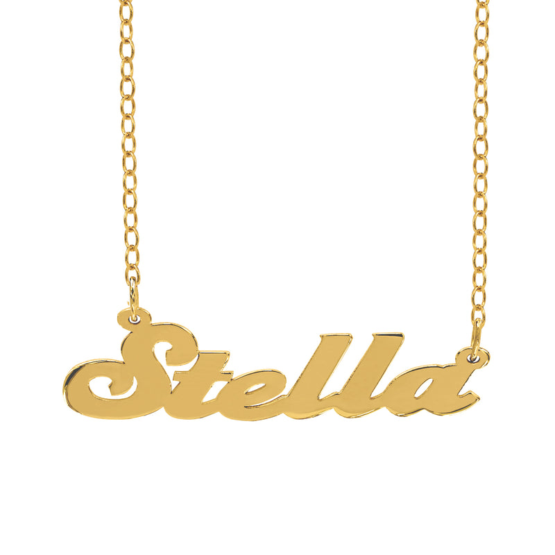 The Stella Name Necklace