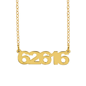 Date Necklace
