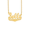 The Bella Name Necklace with Heart