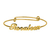 Personalized Name Babe Bangle
